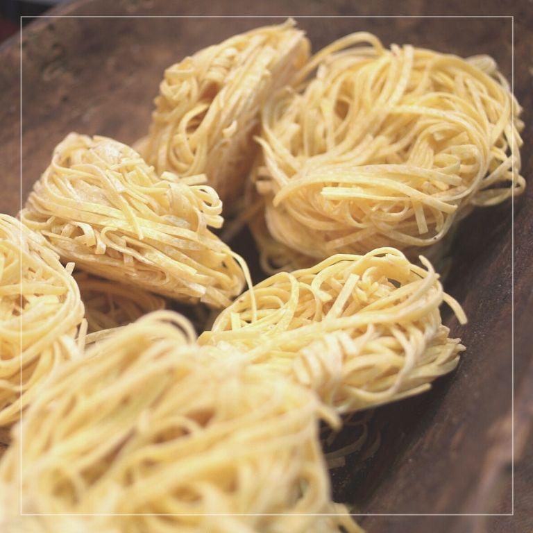 Villa Fontana e il territorio: ii tajarin, la pasta fatta in casa tipica del Piemonte