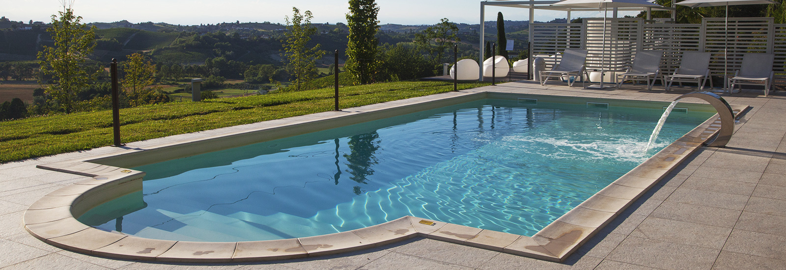 Scopri le piscine di Villa Fontana Relais Suites and Spa