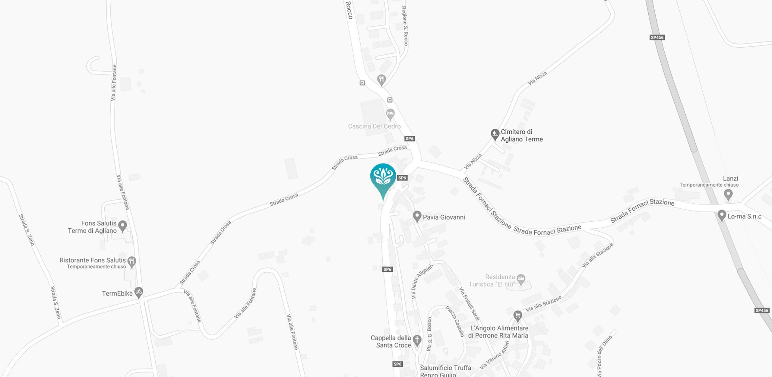 Ecco dove potete trovare Villa Fontana